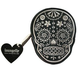 Loungefly Skull Day of the Dead Wallet Coin Purse